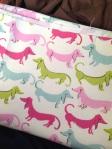 hot dog waverly flamingo fabric