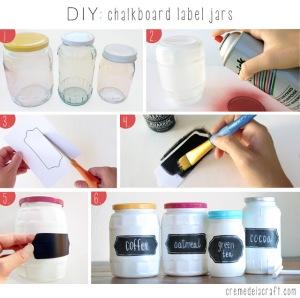 DIY-Project-Idea-Tutorial-Chalkboard-Paint-Glass-Label-Spice-Jars